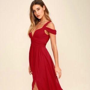 Lulu's Ocean of Elegance -Red. Sz. Small